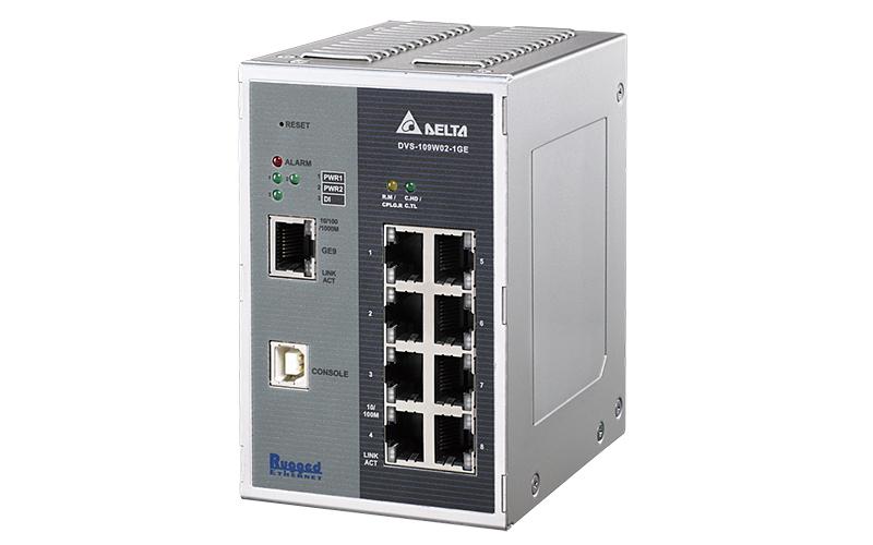 Delta Switch Ethernet DVS-109W02
